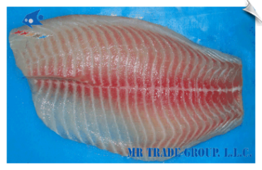 Tilapia Fillet, CO Treated, Shallow Skinned, Premium Trimmed
